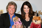 Reality TV Personalities Ken Todd (L) and Lisa Vanderpump (R) attend the 2019 Pre-GRAMMY event presented by OK!, Star, In Touch and Life & Style magazines at the Liaison Restaurant on February 07, 2019 in Los Angeles, California.