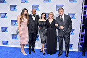 (L-R) Hope Dworaczyk, Robert F. Smith, Hilaria Baldwin, Kerry Kennedy, and Alec Baldwin attend the 2019 Robert F. Kennedy Human Rights Ripple Of Hope Awards on December 12, 2018 in New York City.