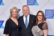 Robert F. Kennedy Human Rights President Kerry Kennedy, Discovery President and CEO David Zaslav and Pam Zaslav attend the 2019 Robert F. Kennedy Human Rights Ripple Of Hope Awards on December 12, 2018 in New York City.