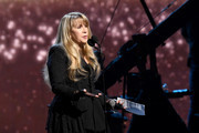 Inductee Stevie Nicks performs at the  2019 Rock & Roll Hall Of Fame Induction Ceremony - Show at Barclays Center on March 29, 2019 in New York City.