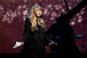 Inductee Stevie Nicks speaks onstage at the 2019 Rock & Roll Hall Of Fame Induction Ceremony - Show at Barclays Center on March 29, 2019 in New York City.