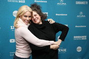 """Cheryl Hines and Co-Director and Writer Jennifer Baichwal attend the  """"Anthropocene: The Human Epoch"""" Premiere during the 2019 Sundance Film Festival at Temple Theater on January 25, 2019 in Park City, Utah."""
