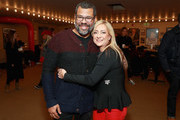 """Executive Producer Jordan Peele (L) and  Lorena Gallo attend the """"Lorena"""" Premiere during the 2019 Sundance Film Festival  at Egyptian Theatre on January 29, 2019 in Park City, Utah."""