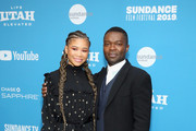 """Storm Reid (L) and David Oyelowo attend the """"Relive"""" Premiere during the 2019 Sundance Film Festival  at The Marc Theatre on January 27, 2019 in Park City, Utah."""