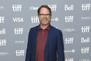 "Rainn Wilson attends the ""Blackbird"" press conference during the 2019 Toronto International Film Festival at TIFF Bell Lightbox on September 06, 2019 in Toronto, Canada."