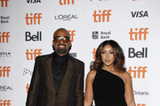 "Mike Epps and Kyra Robinson attend the ""Dolemite Is My Name"" premiere during the 2019 Toronto International Film Festival at Princess of Wales Theatre on September 07, 2019 in Toronto, Canada."