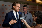 "Charlie Hunnam attends the ""Jungleland"" photo call during the 2019 Toronto International Film Festival at Princess of Wales Theatre on September 12, 2019 in Toronto, Canada."