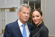 (L-R) David Foster and Katharine McPhee attend the 2019 Toronto International Film Festival TIFF Tribute Gala at The Fairmont Royal York Hotel on September 09, 2019 in Toronto, Canada.