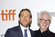 "Charlie Hunnam and Peter Carey attend the True History Of Kelly Gang"" premiere during the 2019 Toronto International Film Festival at Roy Thomson Hall on September 11, 2019 in Toronto, Canada."