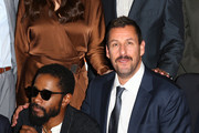 """LaKeith Stanfield and Adam Sandler attend the """"Uncut Gems""""premiere during the 2019 Toronto International Film Festival at Princess of Wales Theatre on September 09, 2019 in Toronto, Canada."""