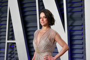 Michelle Rodriguez attends the 2019 Vanity Fair Oscar Party hosted by Radhika Jones at Wallis Annenberg Center for the Performing Arts on February 24, 2019 in Beverly Hills, California.