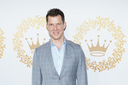 Eric Mabius attends Hallmark Channel And Hallmark Movies And Mysteries 2019 Winter TCA Tour at Tournament House on February 09, 2019 in Pasadena, California.