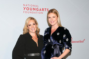 Gillian Hearst and Sarah Arison attend the YoungArts New York Gala at the Metropolitan Museum on April 16, 2019 in New York City.