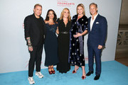 Jim Shreve, Dee Dee Sides, Gillian Hearst, Sarah Arison and Ward Simmons attend the YoungArts New York Gala at the Metropolitan Museum on April 16, 2019 in New York City.