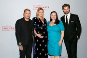Jim Shreve, Sarah Arison, Zuzanna Szadkowski and Andrew Rannells attend the YoungArts New York Gala at the Metropolitan Museum on April 16, 2019 in New York City.