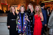 Gillian Hearst, Agnes Gund, Sarah Arison and Sandra Tamer attend the YoungArts New York Gala at the Metropolitan Museum on April 16, 2019 in New York City.