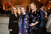Gillian Hearst, Agnes Gund, Sarah Arison attend the YoungArts New York Gala at the Metropolitan Museum on April 16, 2019 in New York City.