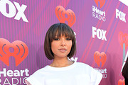 (EDITORIAL USE ONLY. NO COMMERCIAL USE) Kat Graham attends the 2019 iHeartRadio Music Awards which broadcasted live on FOX at Microsoft Theater on March 14, 2019 in Los Angeles, California.
