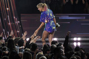 (EDITORIAL USE ONLY. NO COMMERCIAL USE)  <<enter caption here>> on stage at the 2019 iHeartRadio Music Awards which broadcasted live on FOX at the Microsoft Theater on March 14, 2019 in Los Angeles, California.