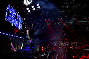 (EDITORIAL USE ONLY) Steve Aoki performs onstage during the 2019 iHeartRadio Music Festival at T-Mobile Arena on September 20, 2019 in Las Vegas, Nevada.