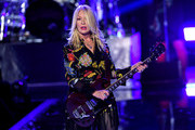 (EDITORIAL USE ONLY) Nancy Wilson of Heart performs onstage during the 2019 iHeartRadio Music Festival at T-Mobile Arena on September 20, 2019 in Las Vegas, Nevada.