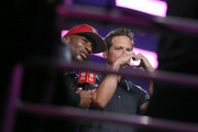 (EDITORIAL USE ONLY) Charlamagne tha God and Scott Wolf attend the 2019 iHeartRadio Music Festival at T-Mobile Arena on September 21, 2019 in Las Vegas, Nevada.