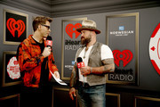 (EDITORIAL USE ONLY) (L-R) Bobby Bones and Zac Brown attend the 2019 iHeartRadio Music Festival at T-Mobile Arena on September 21, 2019 in Las Vegas, Nevada.