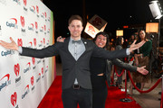 (EDITORIAL USE ONLY. NO COMMERCIAL USE) (L-R) Matt Johnson and Kim Schifino of Matt and Kim arrive at the 2019 iHeartRadio Podcast Awards Presented by Capital One at the iHeartRadio Theater LA on January 18, 2019 in Burbank, California.
