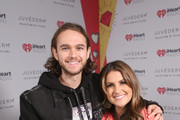 (EDITORIAL USE ONLY. NO COMMERCIAL USE) (L-R) Zedd and Sisanie attend 2019 iHeartRadio Wango Tango presented by The JUVÉDERM® Collection of Dermal Fillers at Dignity Health Sports Park on June 01, 2019 in Carson, California.
