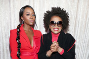 (L-R) Aja Naomi King and Jenifer Lewis attend the 2020 13th Annual ESSENCE Black Women in Hollywood Luncheon at Beverly Wilshire, A Four Seasons Hotel on February 06, 2020 in Beverly Hills, California.