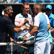 Mark Woodforde and Pat Cash