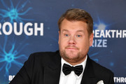 James Corden attends the 2020 Breakthrough Prize Red Carpet at NASA Ames Research Center on November 03, 2019 in Mountain View, California.
