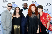 (L-R) Shia LaBeouf, Natasha Braier, Byron Bowers, Alma Har'el and Noah Jupe attend the 2020 Film Independent Spirit Awards on February 08, 2020 in Santa Monica, California.