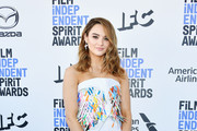 Hunter King attends the 2020 Film Independent Spirit Awards on February 08, 2020 in Santa Monica, California.