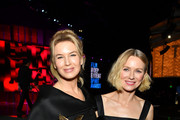 """(L-R) Renée Zellweger, winner of Best Female Lead for """"Judy,"""" and Naomi Watts attend the 2020 Film Independent Spirit Awards on February 08, 2020 in Santa Monica, California."""