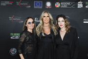 Maria Sole Tognazzi, Tiziana Rocca and Claudia Gerini attend the 2020 Filming Italy Awards at the Italian Cultural Institute on January 22, 2020 in Los Angeles, California.