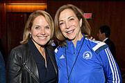 Katie Couric and Kathrine Switzer Photos Photo