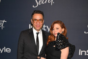 (L-R) Fred Armisen and Natasha Lyonne attend The 2020 InStyle And Warner Bros. 77th Annual Golden Globe Awards Post-Party at The Beverly Hilton Hotel on January 05, 2020 in Beverly Hills, California.