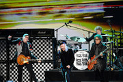 (L-R) Rick Nielsen, Robin Zander, Tom Petersson, and Daxx Nielsen of Cheap Trick perform onstage during MusiCares Person of the Year honoring Aerosmith at West Hall at Los Angeles Convention Center on January 24, 2020 in Los Angeles, California.