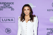 Eva Longoria attends the 2020 Women at Sundance Celebration hosted by Sundance Institute and Refinery29, Presented by LUNA at Juniper at Newpark on January 27, 2020 in Park City, Utah.