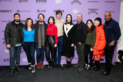 "The cast and crew of ""The Nowhere Inn"" attend the 2020 Sundance Film Festival - ""The Nowhere Inn"" Premiere at Library Center Theater on January 25, 2020 in Park City, Utah."