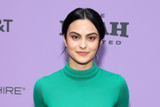 "Camila Mendes attends the 2020 Sundance Film Festival - ""Palm Springs"" Premiere at Library Center Theater on January 26, 2020 in Park City, Utah."