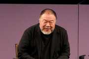 Ai WeiWei speaks at the 2020 Sundance Film Festival - Power Of Story: Just Art Panel at Egyptian Theatre on January 25, 2020 in Park City, Utah.