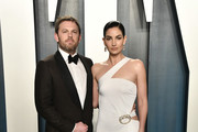 Lily Aldridge and Caleb Followill (L) attend the 2020 Vanity Fair Oscar Party hosted by Radhika Jones at Wallis Annenberg Center for the Performing Arts on February 09, 2020 in Beverly Hills, California.