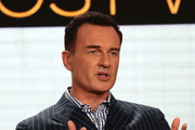 """Julian McMahon of """"FBI: The Most Wanted"""" speaks during the CBS segment of the 2020 Winter TCA Press Tour at The Langham Huntington, Pasadena on January 12, 2020 in Pasadena, California."""