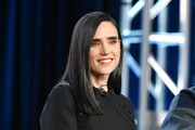 Jennifer Connelly of 'Snowpiercer' speaks during the TNT segment of the 2020 Winter Television Critics Association Press Tour at The Langham Huntington, Pasadena on January 15, 2020 in Pasadena, California.