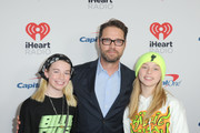 (FOR EDITORIAL USE ONLY) Jason Priestley (C) and guests attend the 2020 iHeartRadio ALTer EGO at The Forum on January 18, 2020 in Inglewood, California.