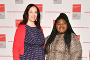 Melissa Norden and Gabourey Sidibe attend the 20th Anniversary Bottomless Closet Luncheon at Cipriani 42nd Street on May 15, 2019 in New York City.