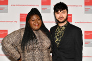 Gabourey Sidibe and Brad Walsh attend the 20th Anniversary Bottomless Closet Luncheon at Cipriani 42nd Street on May 15, 2019 in New York City.