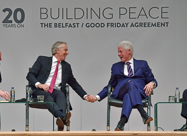 Tony blair in the 20th anniversary of the signing of the good friday the 20th anniversary of the signing of the good friday agreement platinumwayz